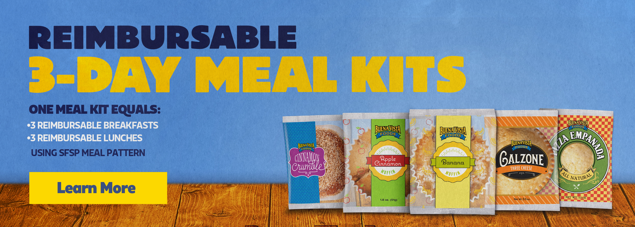 reimbursable meal kits